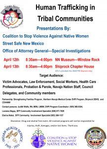 Human Trafficking in Tribal Communities @ Navajo Nation Museum