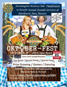 Oktober-Fest @ Lions Wilderness Amphitheater | Farmington | New Mexico | United States
